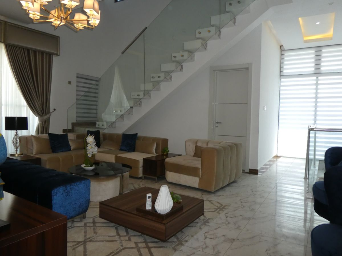 Pay 70% and Move-in-Luxury-UNFURNISHED-4 Bedroom Duplex in Ikate-Lekki for Sale